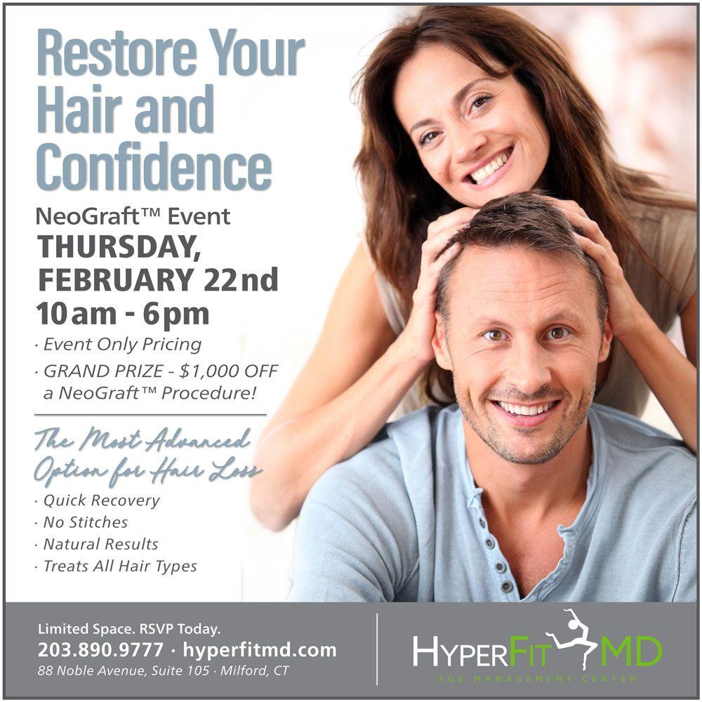 Hair Restoration Promo